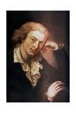 Johann Christoph Friedrich Von Schiller  German Poet  Dramatist and Historian  C1785