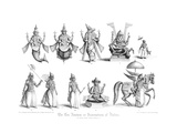 The Ten Abatars or Incarnations of Vishnu