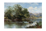 The Stream in Summer Time  1887