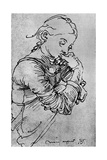 My Agnes  Durer's Wife Depicted as a Girl  1495