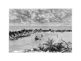 General View of Hopetown  Abaco Island  C1890