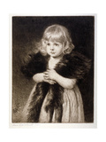 Miss Mildred Carter - Grandmother's Boa  C1864-1930
