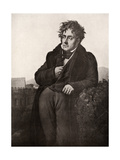 Francois-Rene  Vicomte De Chateaubriand  French Writer and Diplomat  Early 19th Century