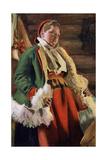 Braskkulla  a Peasant Girl from Moro  1911-1912