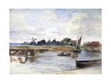 River Scene  C1864-1930