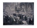 Inaugaration of Lord Mayor Nathaniel Newnham  London  1801
