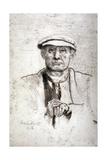 Old Man in a Flat Cap  1916