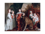 The Five Eldest Children of Charles I 1637
