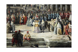 Reception of the French Ambassador in Venice  1726-1727