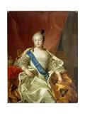 Portrait of Empress Elisabeth Petrovna  1760
