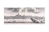 Panoramic View of London  1710