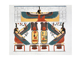 Mural from the Tombs of the Kings at Thebes  1820