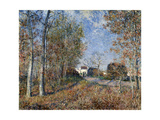 Corner of the Wood Close to Fontainbleau  1883
