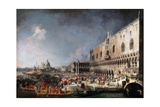 Arrival of the French Ambassador in Venice  1725-1726