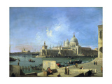 View of the Salute from the Entrance of the Grand Canal  Venice  C1727-1728