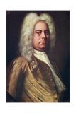 George Frideric Handel  (1685-175)  German Composer  C1730S