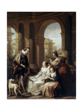 The Spanish Concert  1754