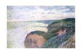 Steep Cliffs Near Dieppe  1897