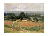 Haystack at Giverny, 1886 Giclée par Claude Monet
