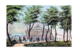 Castle Garden from the Battery  New York  1848