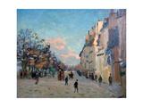 La Place Valhubert  Paris  C1860-1927