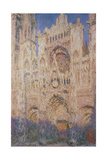 Rouen Cathedral at Sunset  1892-1894
