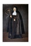 Abbess Jerónima De La Fuente  1620