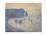 Cliffs at Ètretat  1885-1886