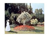 Woman in the Garden  Sainte Adresse  1867