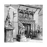 Hanuman Gate of the Royal Palace  Kathmandu  Nepal  1895