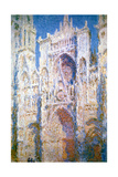 Rouen Cathedral  Harmony in Blue and Gold  1894