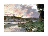 River Seine at Bougival  C1870