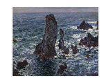 The Rocks in Belle-Ile (Pyramides De Port-Coton  Mer Sauvag)  1886