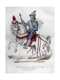Equestrian Portrait of Henry IV of France in 1596  (1882-188)