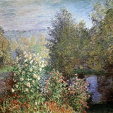 Corner of the Garden at Montgeron, C1876 Giclée par Claude Monet