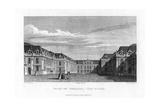 Royal Court  Palace of Versailles  Near Paris  1829