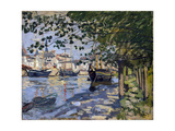 Seine at Rouen, 1872 Giclée par Claude Monet