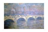 The Waterloo Bridge, London, 1903 Giclée par Claude Monet