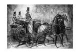 A Dandy Driving  19th Century