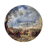 The Sermon of Christ at the Genezareth Lake  1623
