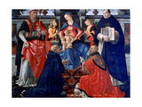 Madonna and Child Enthroned with the Saints  1483