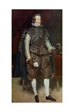 Philip IV of Spain in Brown and Silver  C1631-1632