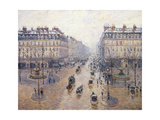 L'Avenue De L'Opéra  Snow  Morning  1898