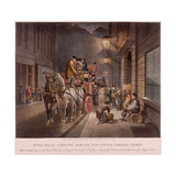 General Post Office  Lombard Street  London  1827