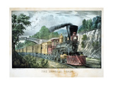 The Express Train  USA  1870