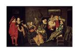 The Merry Company  17th Century