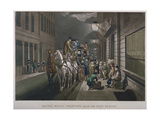 Mail Coach Outside the General Post Office  Lombard Street  City of London  1827