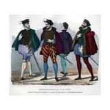 French Gentlemen's Costume  1572