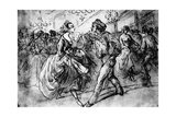 At the Dance  19th Century