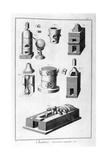 Chemistry  Furnace Utensils  1751-1777